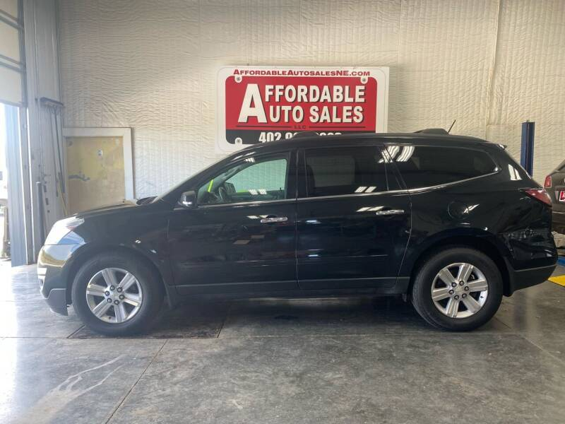 2014 Chevrolet Traverse for sale at Affordable Auto Sales in Humphrey NE