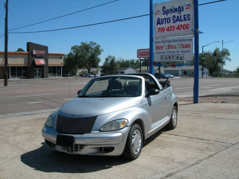 2005 Chrysler PT Cruiser for sale at Springs Auto Sales in Colorado Springs CO