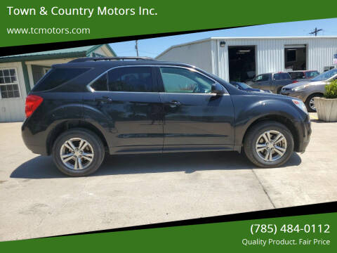 2014 Chevrolet Equinox for sale at Town & Country Motors Inc. in Meriden KS