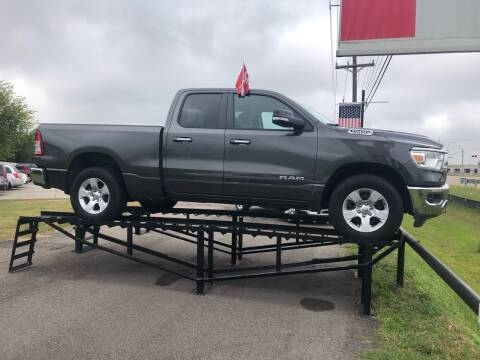 2020 RAM Ram Pickup 1500 for sale at FREDY CARS FOR LESS in Houston TX