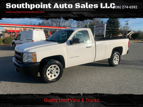 2013 Chevrolet Silverado 1500 for sale at Southpoint Auto Sales LLC in Greensboro NC