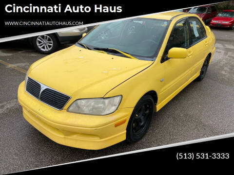 2002 Mitsubishi Lancer for sale at Cincinnati Auto Haus in Cincinnati OH