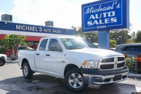 2015 RAM Ram Pickup 1500 for sale at Michael's Auto Sales Corp in Hollywood FL
