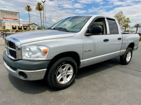 2008 Dodge Ram Pickup 1500 for sale at Charlie Cheap Car in Las Vegas NV