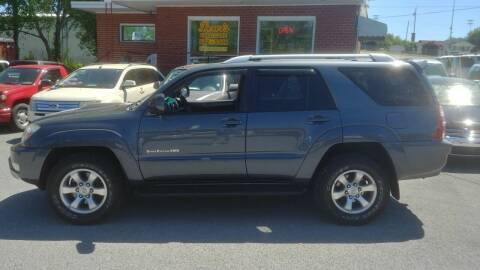 2004 Toyota 4Runner for sale at Lewis Used Cars in Elizabethton TN