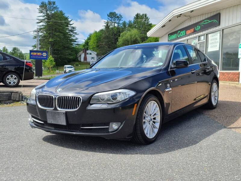 2011 BMW 5 Series for sale at Green Cars Vermont in Montpelier VT