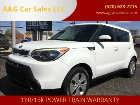 2014 Kia Soul for sale at A&G Car Sales  LLC in Tucson AZ