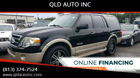 2008 Ford Expedition for sale at QLD AUTO INC in Tampa FL