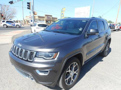 2018 Jeep Grand Cherokee for sale at AUGE'S SALES AND SERVICE in Belen NM