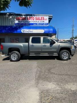 2011 Chevrolet Silverado 2500HD for sale at PORTLAND AUTO SALES LLC. in Portland OR