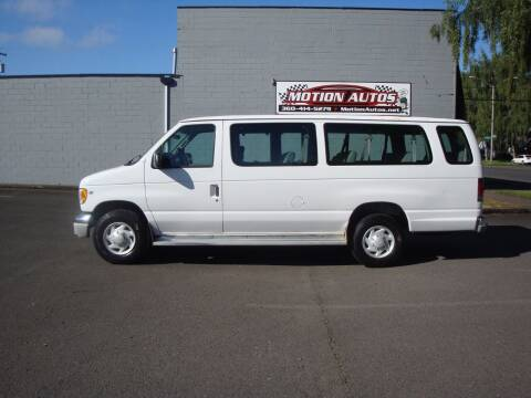 2002 Ford E-350 for sale at Motion Autos in Longview WA