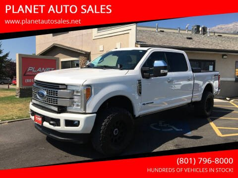 2017 Ford F-250 Super Duty for sale at PLANET AUTO SALES in Lindon UT