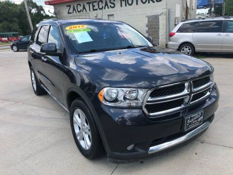 2013 Dodge Durango for sale at Zacatecas Motors Corp in Des Moines IA