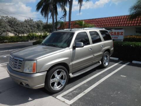 2002 Cadillac Escalade for sale at Uzdcarz Inc. in Pompano Beach FL