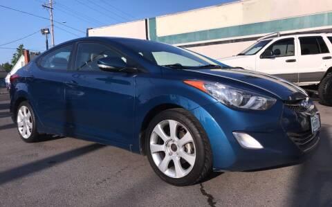 2013 Hyundai Elantra for sale at Salem Auto Market in Salem OR