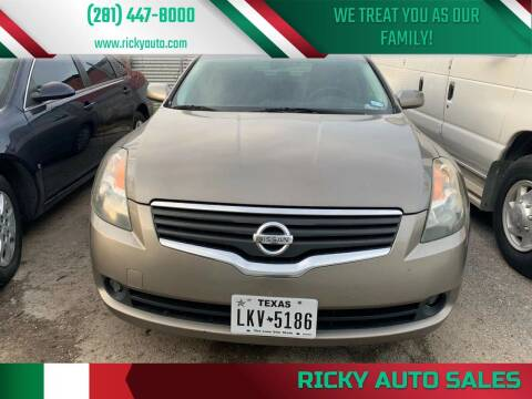 2007 Nissan Altima for sale at Ricky Auto Sales in Houston TX