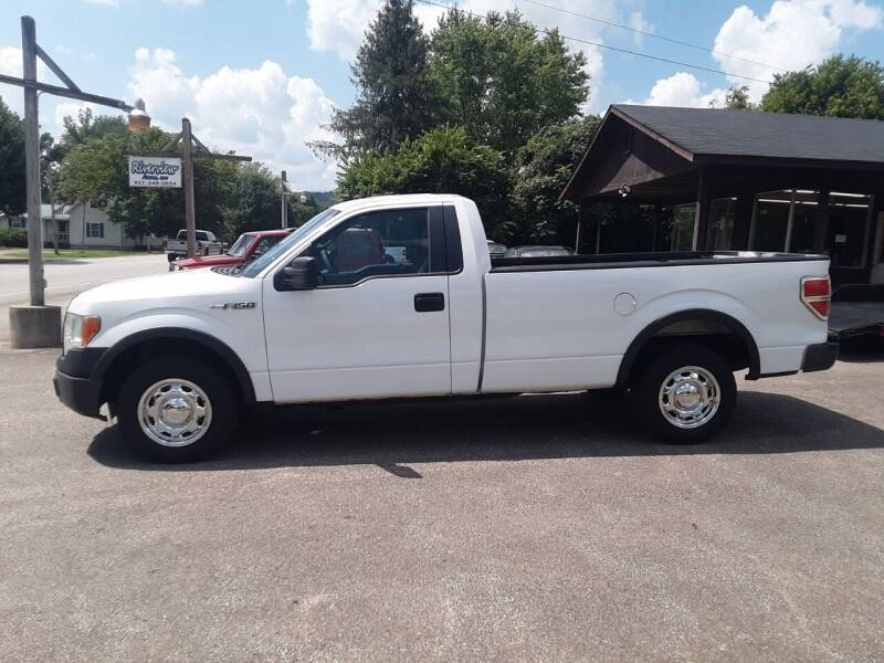 2013 Ford F-150 for sale at Riverview Auto's, LLC in Manchester OH