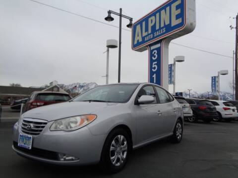 2010 Hyundai Elantra for sale at Alpine Auto Sales in Salt Lake City UT