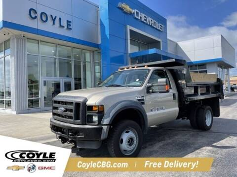 2008 Ford F-550 Super Duty for sale at COYLE GM - COYLE NISSAN - New Inventory in Clarksville IN
