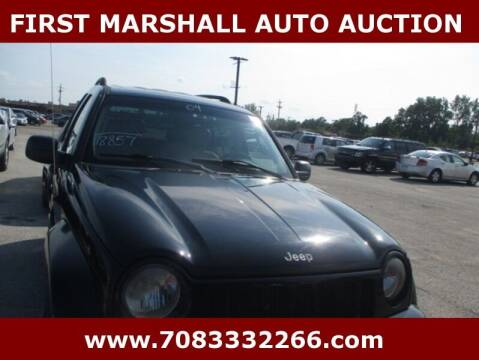 2004 Jeep Liberty for sale at First Marshall Auto Auction in Harvey IL
