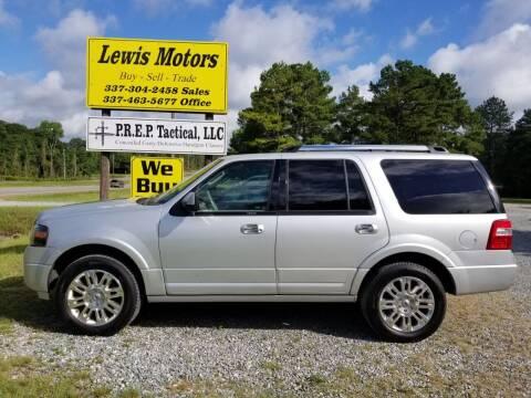 2012 Ford Expedition for sale at Lewis Motors LLC in Deridder LA