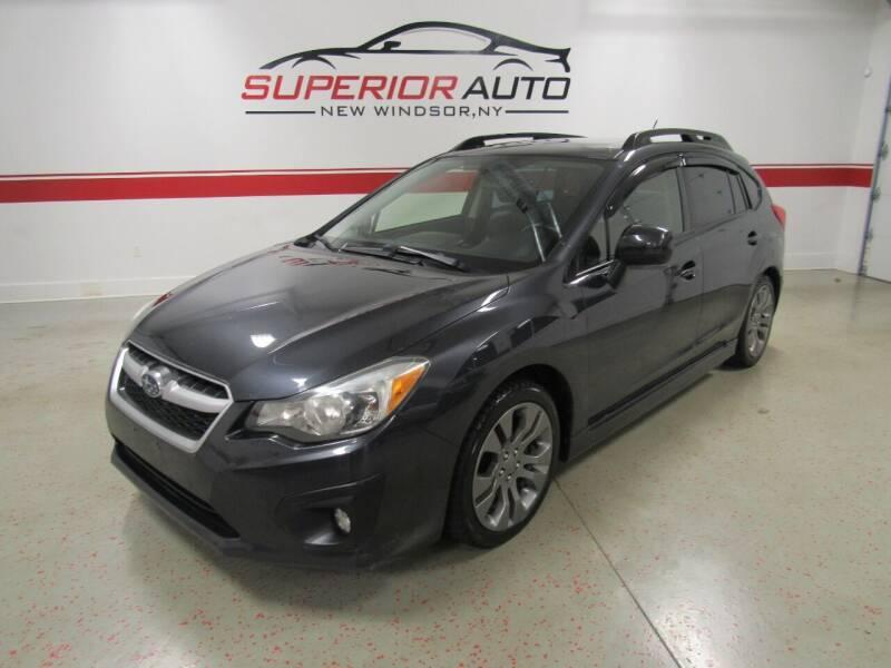 2012 Subaru Impreza for sale at Superior Auto Sales in New Windsor NY