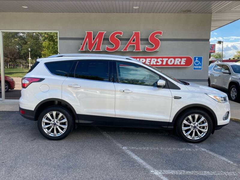2017 Ford Escape for sale at MSAS AUTO SALES in Grand Island NE