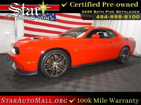 2016 Dodge Challenger for sale at STAR AUTO MALL 512 in Bethlehem PA