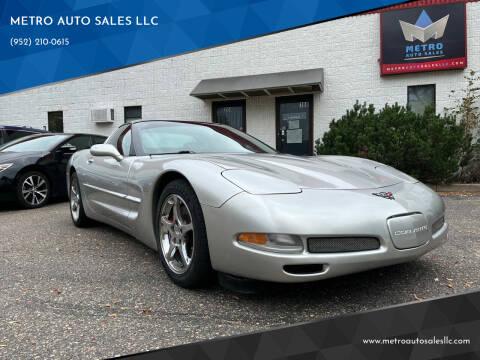 2004 Chevrolet Corvette for sale at METRO AUTO SALES LLC in Blaine MN