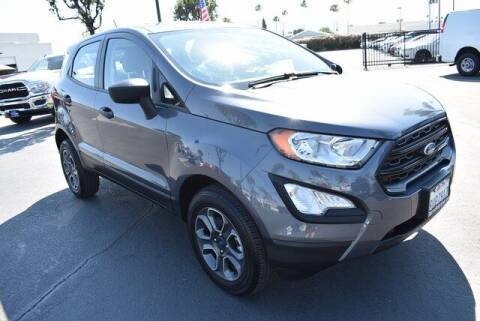2021 Ford EcoSport for sale at DIAMOND VALLEY HONDA in Hemet CA