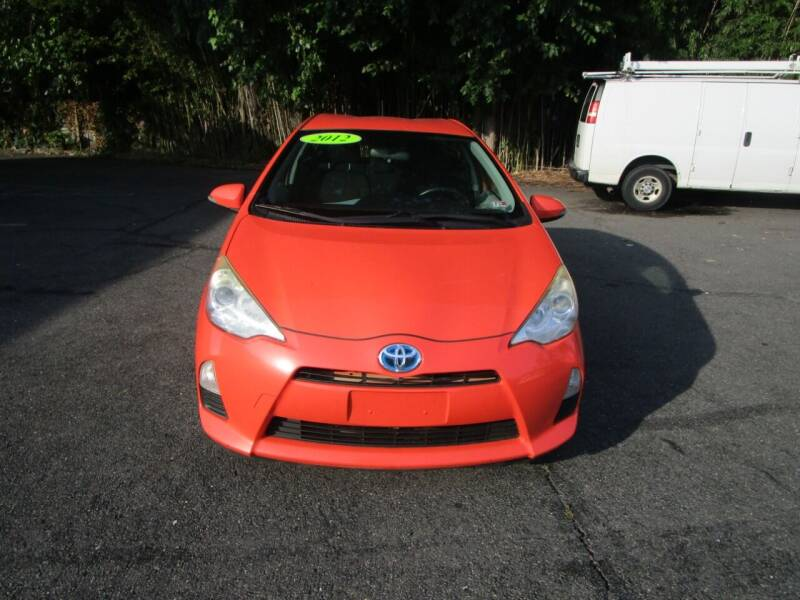 2012 Toyota Prius c for sale at FIRST CLASS AUTO in Arlington VA