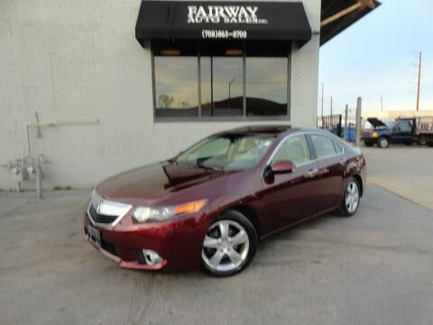 2012 Acura TSX for sale at FAIRWAY AUTO SALES, INC. in Melrose Park IL