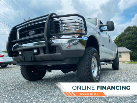 2001 Ford F-250 Super Duty for sale at Prime One Inc in Walkertown NC