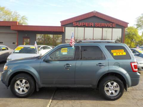 2010 Ford Escape for sale at Super Service Used Cars in Milwaukee WI