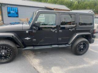 2013 Jeep Wrangler Unlimited for sale at Elite Auto Brokers in Lenoir NC