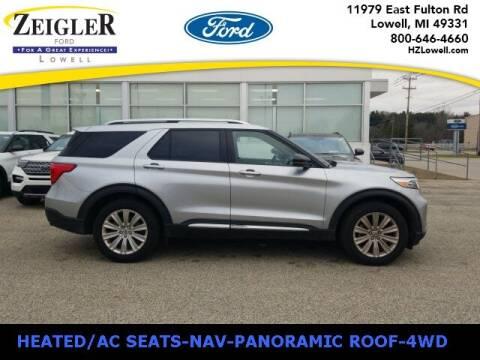 2020 Ford Explorer for sale at Zeigler Ford of Plainwell- Jeff Bishop in Plainwell MI