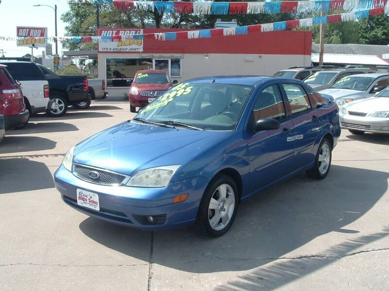 2005 Ford Focus for sale at Rex's Auto Sales in Junction City KS