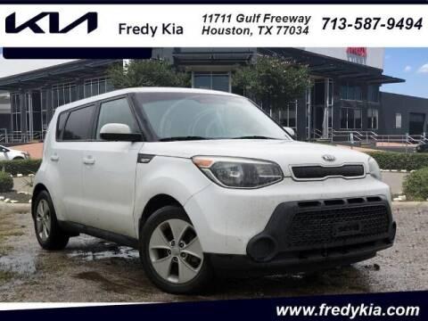2014 Kia Soul for sale at FREDY KIA USED CARS in Houston TX