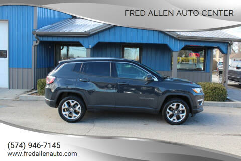 2018 Jeep Compass for sale at Fred Allen Auto Center in Winamac IN