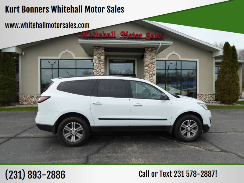 2017 Chevrolet Traverse for sale at Kurt Bonners Whitehall Motor Sales in Whitehall MI
