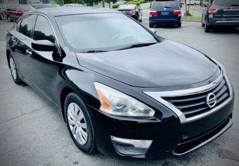 2013 Nissan Altima for sale at RD Motors, Inc in Charlotte NC