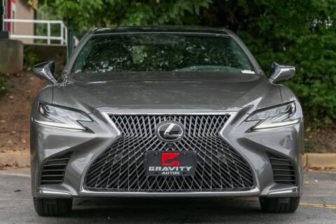 2019 Lexus LS 500 for sale at Gravity Autos Atlanta in Atlanta GA
