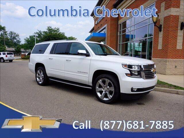 2020 Chevrolet Suburban for sale at COLUMBIA CHEVROLET in Cincinnati OH