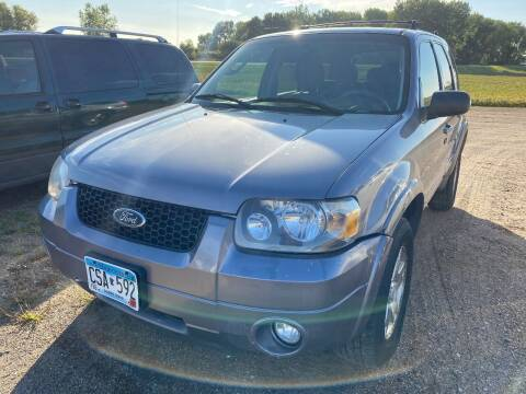 2007 Ford Escape for sale at RDJ Auto Sales in Kerkhoven MN