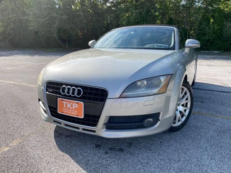 2008 Audi TT for sale at TKP Auto Sales in Eastlake OH