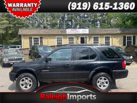 2003 Isuzu Rodeo for sale at Raleigh Imports in Raleigh NC