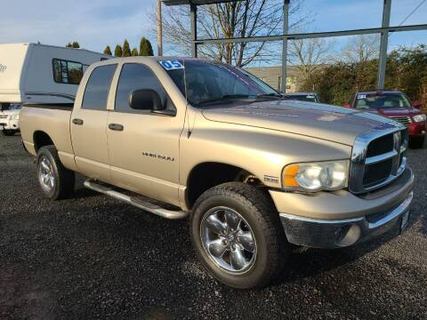 2005 Dodge Ram Pickup 1500 for sale at Universal Auto Sales in Salem OR