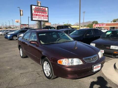 2002 Mazda 626 for sale at ATLAS MOTORS INC in Salt Lake City UT