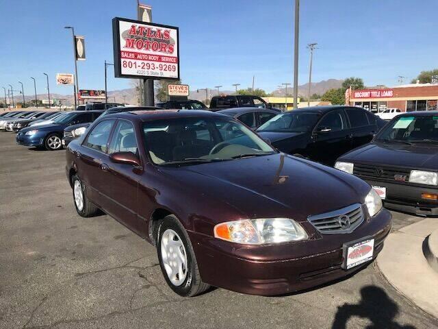 2002 Mazda 626 for sale at ATLAS MOTORS INC in Salt Lake City UT