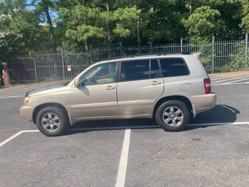 2006 Toyota Highlander for sale at Unity Auto Sales Inc in Charlotte NC